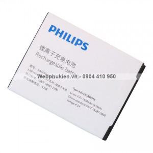 Pin Philips W536 W635 (AB1630AWMX) - 1630mAh Original Battery