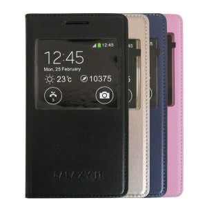 Bao da S-View Cover Samsung Galaxy J1 (on/off LCD)