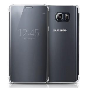 Bao da Samsung Galaxy Note 5 Clear View (đen)