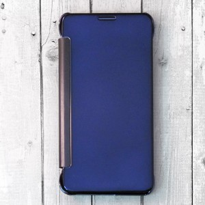 Bao da Samsung Galaxy Note 5 Clear View (xanh Navy)