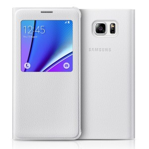 Bao da S-View Samsung Galaxy Note 5 (Made in Việt Nam) trắng