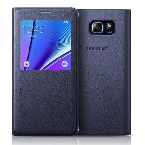 Bao da S-View Samsung Galaxy Note 5 (Made in Việt Nam) xám tro