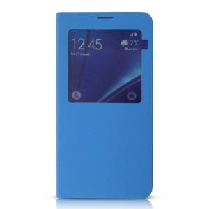Bao da Samsung Galaxy Note 5 S-View Cover (xanh Ngọc)