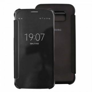Bao da Samsung Galaxy S6 Clear View (Đen)