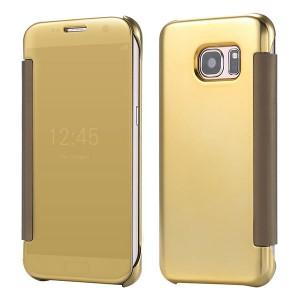 Bao da Samsung Galaxy S6 Clear View (Vàng)