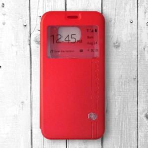 Bao da Samsung Galaxy S6 hiệu Nillkin Sparkle (Đỏ)
