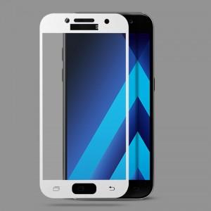 Miếng dán cường lực Samsung Galaxy A3 2017 Full màn hình (Trắng)