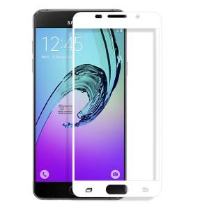 Miếng dán cường lực Samsung Galaxy A7 2016 (A710) Full màn hình Trắng