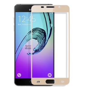 Miếng dán cường lực Samsung Galaxy A7 2016 (A710) Full màn hình Vàng