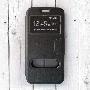 Bao da Samsung Galaxy J7 Pro hiệu OnJess (Đen) - Case dẻo