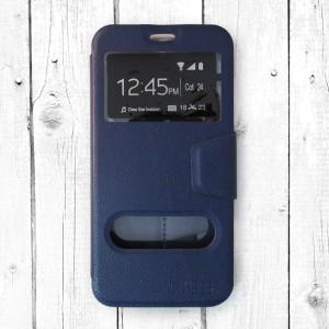 Bao da Samsung Galaxy J7 Pro hiệu OnJess (Xanh) - Case dẻo