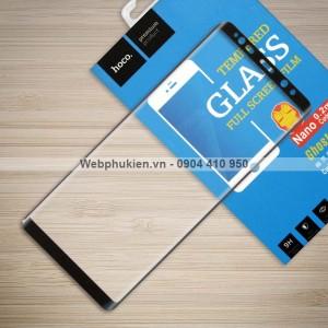 Miếng dán cường lực Samsung Galaxy Note 8 hiệu HOCO Full màn hình (Đen)