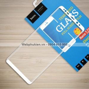 Miếng dán cường lực Samsung Galaxy Note 8 hiệu HOCO Full màn hình (Trắng)