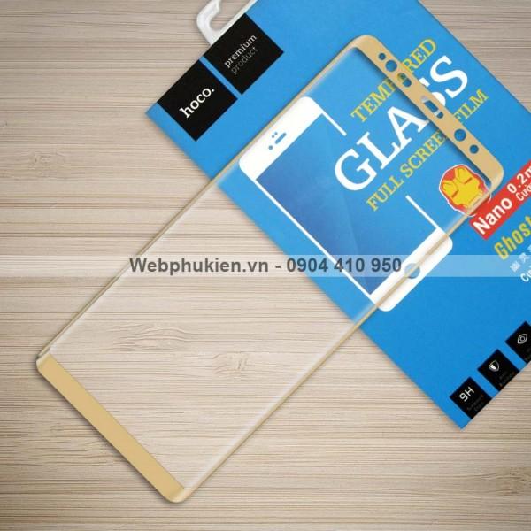Miếng dán cường lực Samsung Galaxy Note 8 hiệu HOCO Full màn hình (Vàng)
