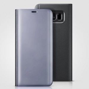 Bao da Samsung Galaxy S8 Plus Clear View Standing Black