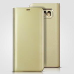 Bao da Samsung Galaxy S8 Plus Clear View Standing Gold