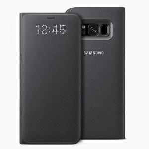 Bao da Samsung Galaxy S8 Plus LED View Black chính hãng (Đen)