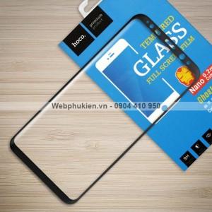 Miếng dán cường lực Samsung Galaxy S8 Plus hiệu HOCO Full (Đen)