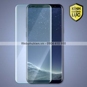 Miếng dán cường lực Samsung Galaxy S8 Plus hiệu HOCO Full màn hình (trong suốt)