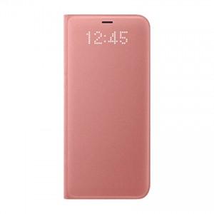 Bao da Samsung Galaxy S8 LED View Pink chính hãng (hồng)