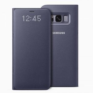 Bao da Samsung Galaxy S8 LED View Violet chính hãng (tím)