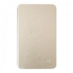 Bao da Galaxy Tab A 7.0 2016 hiệu Kaku Stand Case (vàng)