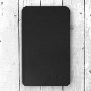 Bao da Galaxy Tab A 8.0 2017 T385 hiệu Kaku Stand Case (Đen)