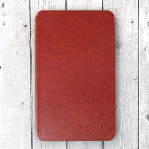 Bao da Galaxy Tab A 8.0 2017 T385 hiệu Kaku Stand Case (Nâu)