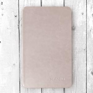 Bao da Galaxy Tab A 8.0 2017 T385 hiệu Kaku Stand Case (vàng Champagne)
