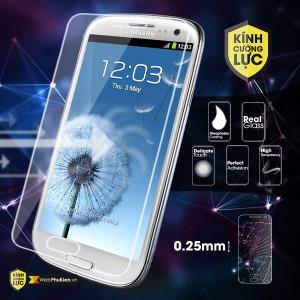 Miếng dán kính cường lực Samsung Galaxy S3 Mini (I8190)