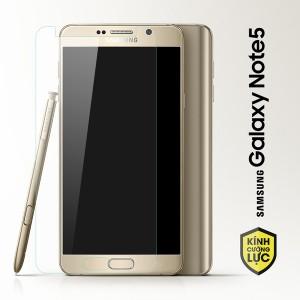 Miếng dán kính cường lực Samsung Galaxy Note 5 (trong suốt)