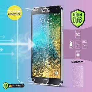 Miếng dán kính cường lực Samsung Galaxy E5 (trong suốt)