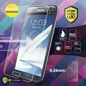 Miếng dán kính cường lực Galaxy Note 2/ N7100 (trong suốt)