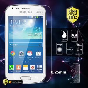 Miếng dán kính cường lực Samsung Galaxy S Duos 2 (S7582)