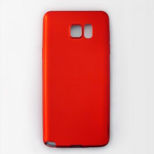 Ốp lưng dẻo Samsung Galaxy Note 5 nhung (đỏ)