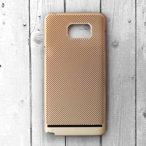Ốp lưng lưới Samsung Galaxy Note 5 chống nóng (Vàng)
