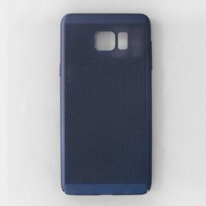 Ốp lưng lưới Samsung Galaxy Note 5 chống nóng (Xanh)