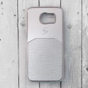 Ốp lưng Samsung Galaxy S6 dẻo chữ S (Bạc)