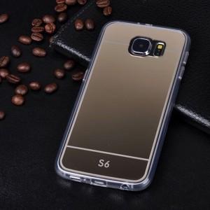 Ốp lưng nhựa dẻo Galaxy S6 tráng gương