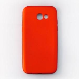 Ốp lưng dẻo Samsung Galaxy A5 2017 nhung (đỏ)