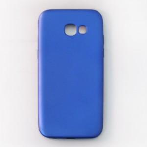 Ốp lưng dẻo Samsung Galaxy A5 2017 nhung (xanh)