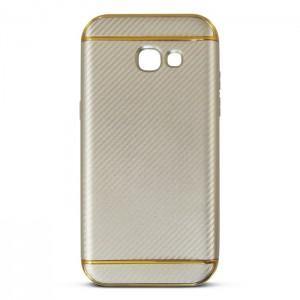 Ốp lưng Samsung Galaxy A7 2017 vân Carbon (Vàng)