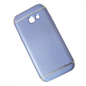 Ốp lưng Samsung Galaxy A7 2017 vân Carbon (xanh Coral)