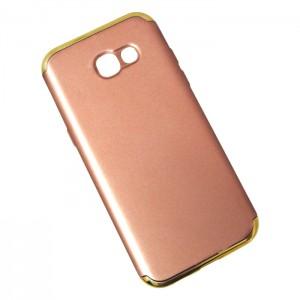 Ốp lưng Samsung Galaxy A7 2017 nhám (Hồng)