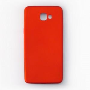 Ốp lưng dẻo Samsung Galaxy A9 Pro nhung (đỏ)