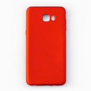 Ốp lưng dẻo Samsung Galaxy C9 Pro nhung (đỏ)
