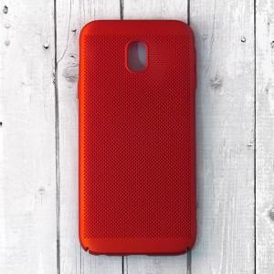 Ốp lưng lưới Samsung Galaxy J3 Pro chống nóng (Đỏ)