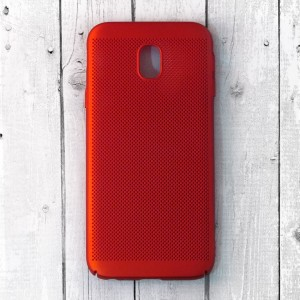 Ốp lưng lưới Samsung Galaxy J5 Pro chống nóng (Đỏ)
