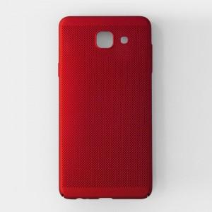 Ốp lưng lưới Samsung Galaxy J7 Max chống nóng (Đỏ)