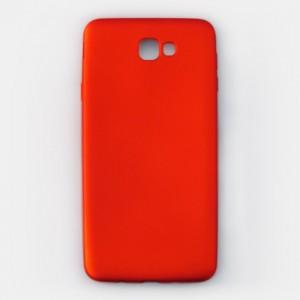 Ốp lưng dẻo Samsung Galaxy J7 Prime nhung (đỏ)